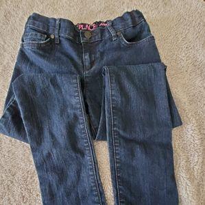 Girl dark super skinny jeans